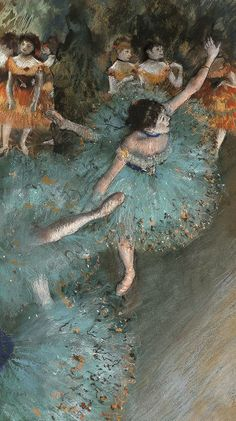 Live edger degas- captures two of my favorite things- dance and art