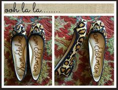 Be still my heart.  Leopard.  Square toe. Sam Edelman.  Don't mind if I do.