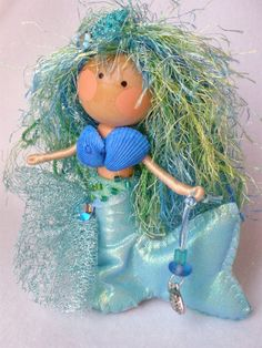 Clothespin Mermaids on Etsy
