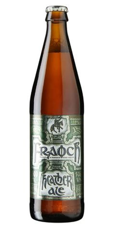 """Scottish Fraoch Heather Ale was brewed since 2000 B.C. making it the oldest style of ale still produced in the world. The recipe for """"leann fraoich"""" (heather ale) was created by an ancient Gaelic and it has been revived and reintroduced to the Scottish culture."""