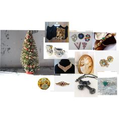 Black Friday Sales Under the Tree by ourboudoirkate on Polyvore featuring Sarah Coventry