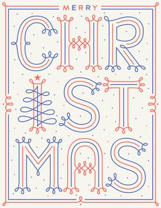 Merry Christmas letterpress card by Martina Flor Goods Merry Christmas Card, Xmas Cards, Christmas Art, Christmas Graphics, Christmas 2019, Merry Christmas Typography, Christmas Posters, Holiday Cards, Types Of Lettering