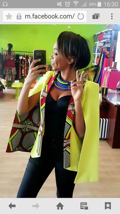 Outstanding Cape Blazer by Nana Wax - Frolicious Are you looking for African inspired Fashion? You should check out the beautiful and outstanding Cape Blazer by Nana Wax. African Inspired Fashion, African Print Fashion, Africa Fashion, Fashion Prints, Fashion Decor, African Print Dresses, African Fashion Dresses, African Dress, African Prints