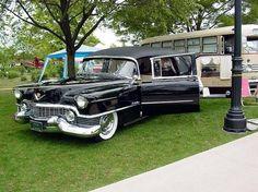 1954 Eureka Cadillac Electric 3-Way hearse