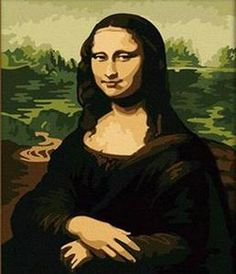 Mona Lisa - DIY Paint By Numbers Kits for Adults