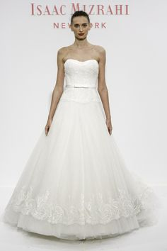 10e6a95cd5 Isaac Mizrahi SS2014 Collection for Kleinfeld. Wedding Dress ...