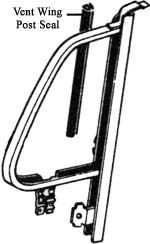 Seal,Vent Wing Post, Left or Right Product Code: 241837465 Price: $5.99 This will fit either the left or the right side for Bus's from ' 68 - ' 79. #aircooled #combi  #1600cc #bug #kombilovers #kombi #vwbug #westfalia #VW #vwlove #vwporn #vwflat4 #vwtype2 #VWCAMPER #vwengine #vwlovers #volkswagen #type1 #type3 #slammed #safariwindow #bus #porsche #vwbug #type2 #23window #wheels #custom #vw #EISPARTS