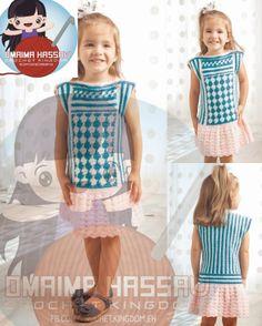 crochet kingdom (E.H): Diamond Rose Dress ♥