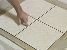 Hometime explains how to grout ceramic tile, how to caulk around a tile project and how to seal a ceramic tile installation. Tile Grout, Tile Projects, Tile Installation, Home Repair, Crafts To Do, Tile Floor, Mosaic, Ceramics, Crafty