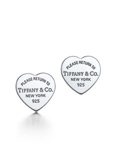 Return to Tiffany Outlet Collection Heart Earrings