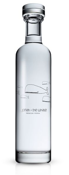 Jonah & the Whale #Vodka #Packaging