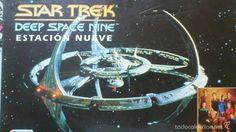 Star trek deep Space Nine- estacion nueve de la marca Falomir de 1994.- Juego de mesa - VINTAGE