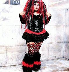 Alternative Outfits, Alternative Fashion, Dark Fashion, Gothic Fashion, Goth Subculture, Curvy Girl Outfits, Cute Lingerie, Fetish Fashion, Cybergoth