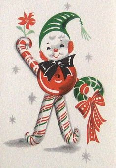Vintage Christmas Card | Vintage cards