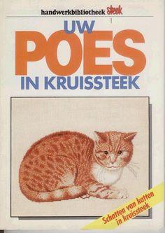 Uw Poes in kruissteek - cats Just Cross Stitch, Cross Stitch Charts, Cross Stitch Patterns, Cat Cross Stitches, Cross Stitching, Tiny Cats, Christmas Cats, Grumpy Cat, Ebook Pdf