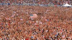 Fans pack Soldier Field in Chicago to cheer USA in the World Cup - 4K
