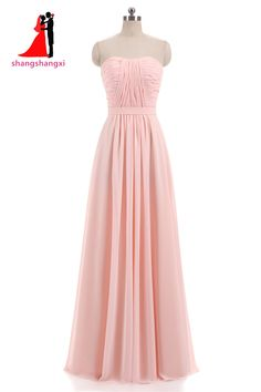 07351b9fff8 New Pink Lilac Chiffon Bridesmaid Dresses 2017 Plus Size Wedding Party Gown  Maid of Honor Long Prom Dress with Belt-in Bridesmaid Dresses from Weddings  ...