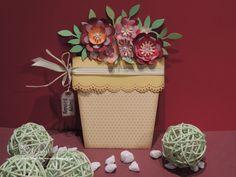 Blumentopfkarte, Papier, handgemacht, selbstgemacht, Geburtstagskarte, Geburtstag, Blumen, flowerpot card, flower, paper, handmade, selfmade, birthday card,