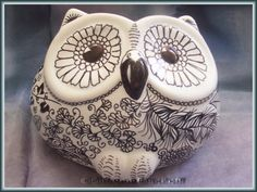 Eule. Inspiration for craft store clay owl