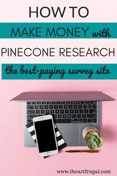 Take Surveys For Money, Earn Money From Home, Way To Make Money, Make Money Online, How To Make, Earn Extra Income, Extra Money, Perfect Money, Survey Sites