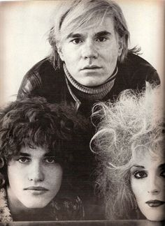 Andy Warhol, Jay Johnson and Candy Darling, photographed for US Vogue, March 1970