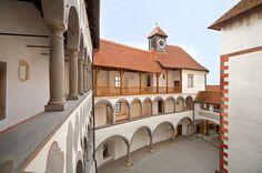 Inside the castle Veliki Tabor