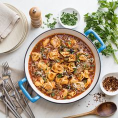 BUITONI® One-Pot Eggplant Pasta