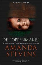 IBS Thriller 70 – Amanda Stevens – De poppenmaker. #harlequin #amandastevens #boeken #ibsthriller #thriller