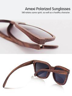 Superisparmio's Post Occhiali in Legno  AMEXI Uomo fatto a mano Occhiali da sole di legno Occhiali da sole Con lenti polarizzate nere  A solo 11.90 #oneshotcode R6XP-NAUYHJ-WRH435   http://amzn.to/2jpcm8c