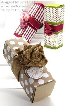 tutos jolies boites à cadeaux