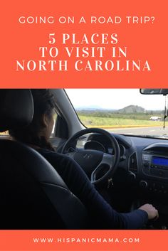 5 Places to Visit in North Carolina  #CambialoConQS AD
