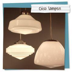 Dit soort (Giso) Lampen zijn ook mooi, maar grote industriële lampen zijn ook mijn smaak