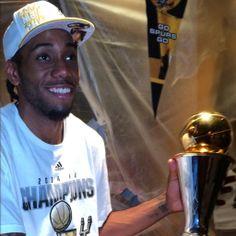 2014 NBA Finals MVP Kawhi Leonard!