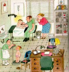praatplaat dokter, voor kleuters