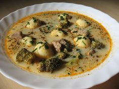 Moha Konyha: Ír gombócleves Jamie Oliver, Cheeseburger Chowder, Love Food, Soup, Cooking, Soups