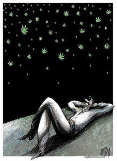 Weed night... - http://growlandia.com/highphotos/media/weed-night/