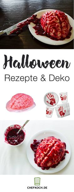 Puddingform Gehirn Halloween | Halloween Inspiration | Pinterest ...