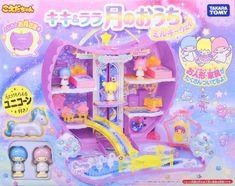 Sanrio Koeda chan Kiki & Lala Little Twin Stars House of the Moon Milky Way F/S Kawaii Crush, Polly Pocket World, Childhood Memories 90s, Toy Bins, Mini Craft, Kawaii Room, Cute Kawaii Drawings, Anime Dolls, Sanrio Characters