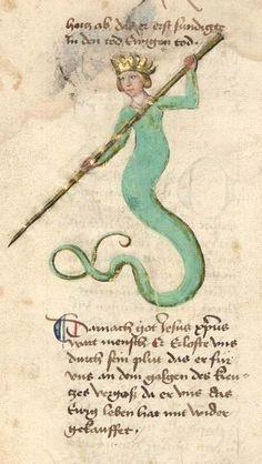 Bayerische Staatsbibliothek, BSB Cgm 598, detail of image 166. Buch der heiligen Dreifaltigkeit (Book of the Holy Trinity). Late 15th century (not before 1467).