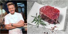 Gordon Ramsay just shared the definitive way to cook the perfect steak Gordon Ramsey Steak, Chef Gordon Ramsey, Gordon Ramsay, Cooking The Perfect Steak, Roast Dinner, Beef Steak, How To Cook Steak, Recipe For Mom, Evening Meals