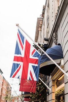 Outside the Ritz, London