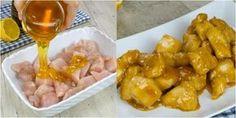 Pollo al miele e sesamo