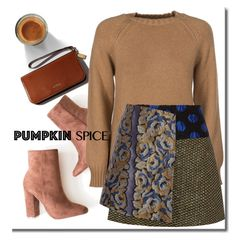 """""""Falling"""" by adduncan ❤ liked on Polyvore featuring A.P.C., SUNO New York and CoffeeDate"""
