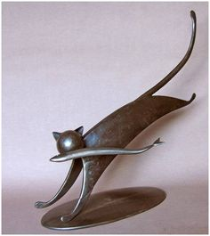 Jean-Pierre Augier - cat sculpture    Xavier Gutierrez onto Pinterest Resources: Tips, Guides,Tools, Apps, Infographics, Tutorials and More