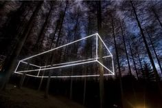 light installations by nathaniel rackowe