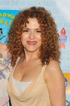 Bernadette Peters curly hairstyle