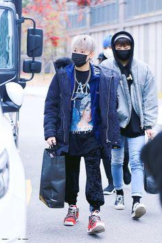 Hyun Suk, Airport Style, Airport Fashion, Cute Panda, Pop Bands, My Forever, Treasure Boxes, Kpop Boy, Bomber Jacket