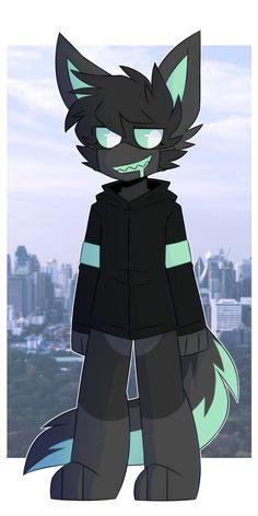 Animal Art, Character Design, Animal Drawings, Cute Wolf Drawings, Character Inspiration, Anime Wolf, Kawaii Drawings, Art, Anime Chibi