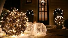 Oh Starry Lights Christmas Outdoors