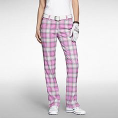 Nike Modern Rise Plaid Women's Golf Pants. Nike Store